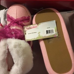 American girl Emerson Tulle Slipper NEW